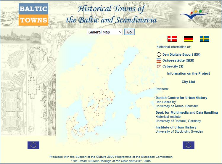 Historical Towns of the Baltic and Scandinavia